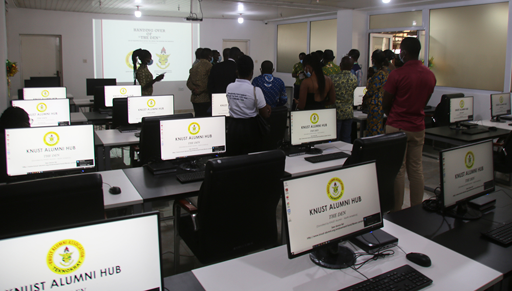 KNUST Alumni Association-USA Chapter Donates ICT Facility to University Library